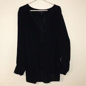 Banana Republic black silk top *LIKE NEW!*